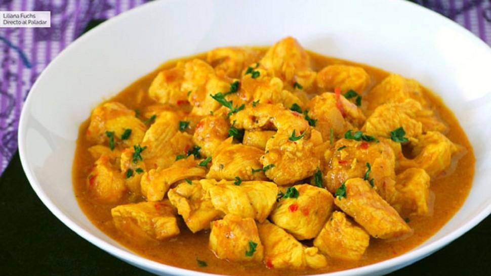 Pollo al curry en 10 minutos, la receta ideal para combatir al frío